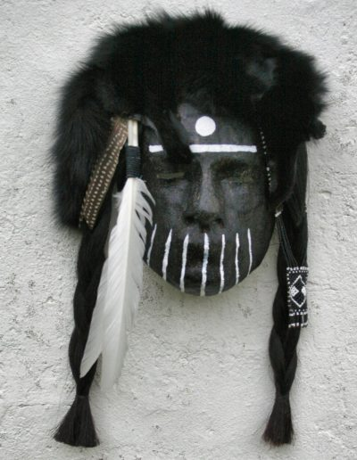 NATIVE AMERICAN FACES AND MASKS masker07 078