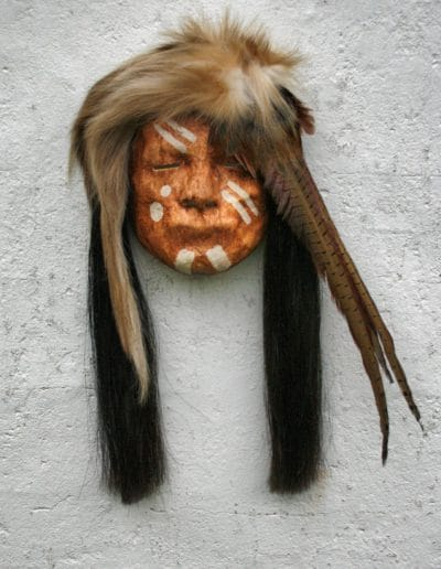 NATIVE AMERICAN FACES AND MASKS masker07 079
