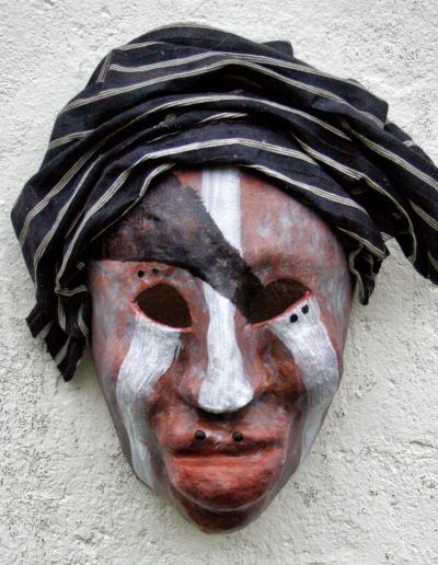 NUBA PAINTED FACES AFRICA masker07 034