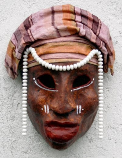 NUBA PAINTED FACES AFRICA masker07 036