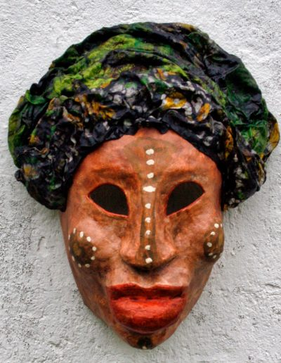 NUBA PAINTED FACES AFRICA masker07 037