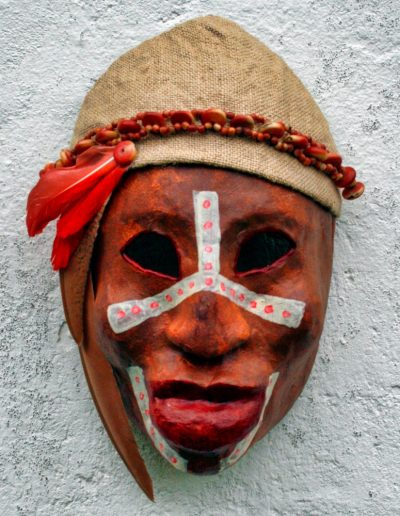 NUBA PAINTED FACES AFRICA masker07 038